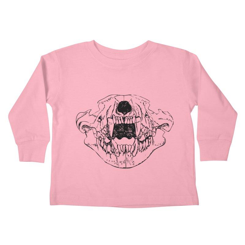 Bear Jaw Kids Toddler Longsleeve T-Shirt by Upper Realm Shop