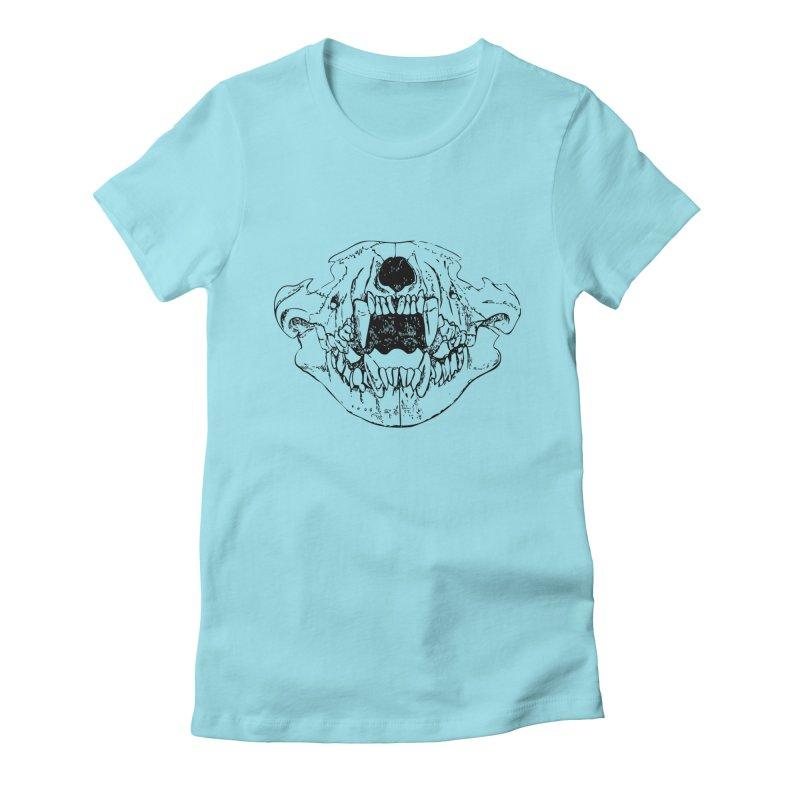 Bear Jaw Women's T-Shirt by Upper Realm Shop