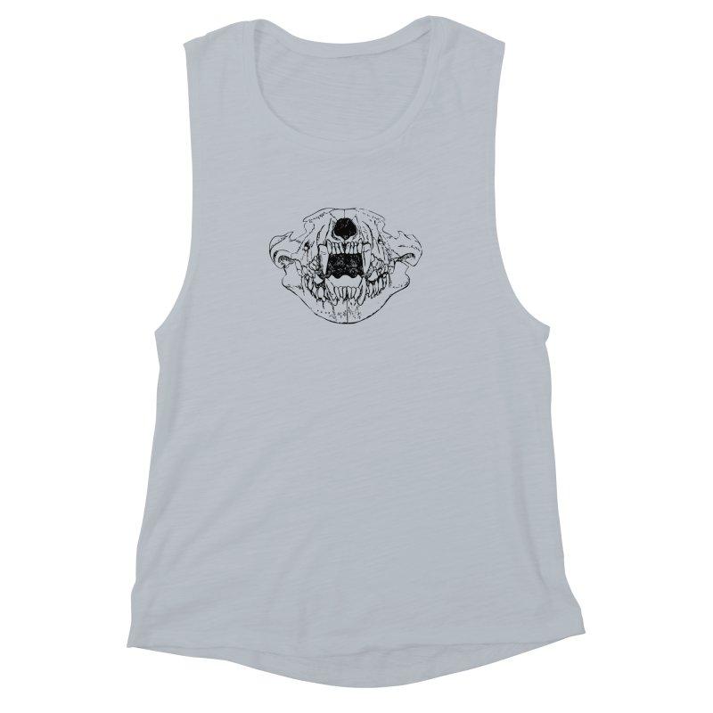 Bear Jaw Women's Muscle Tank by Upper Realm Shop