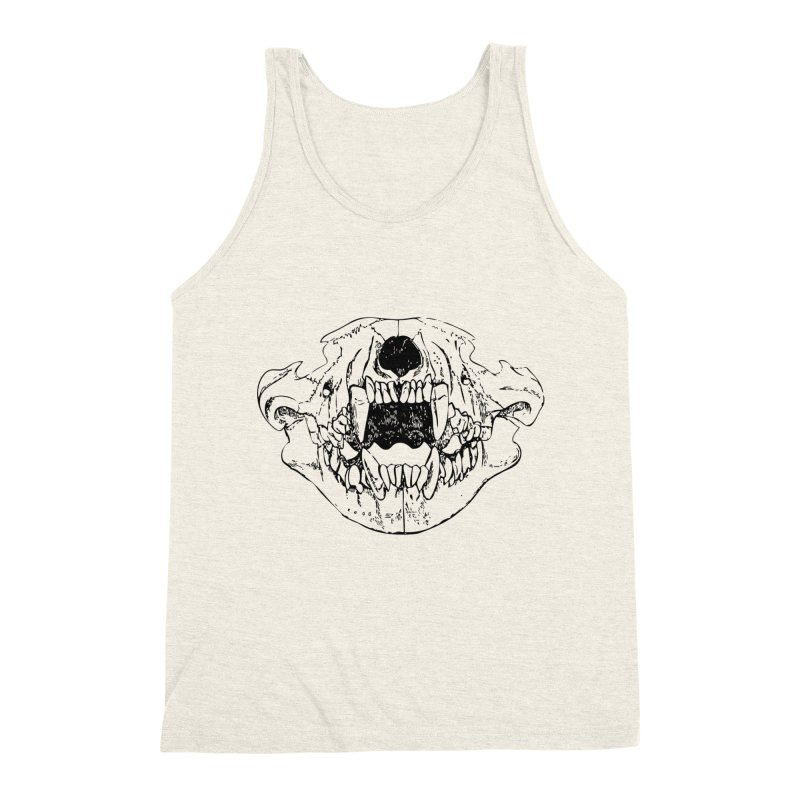 Bear Jaw Men's Triblend Tank by Upper Realm Shop