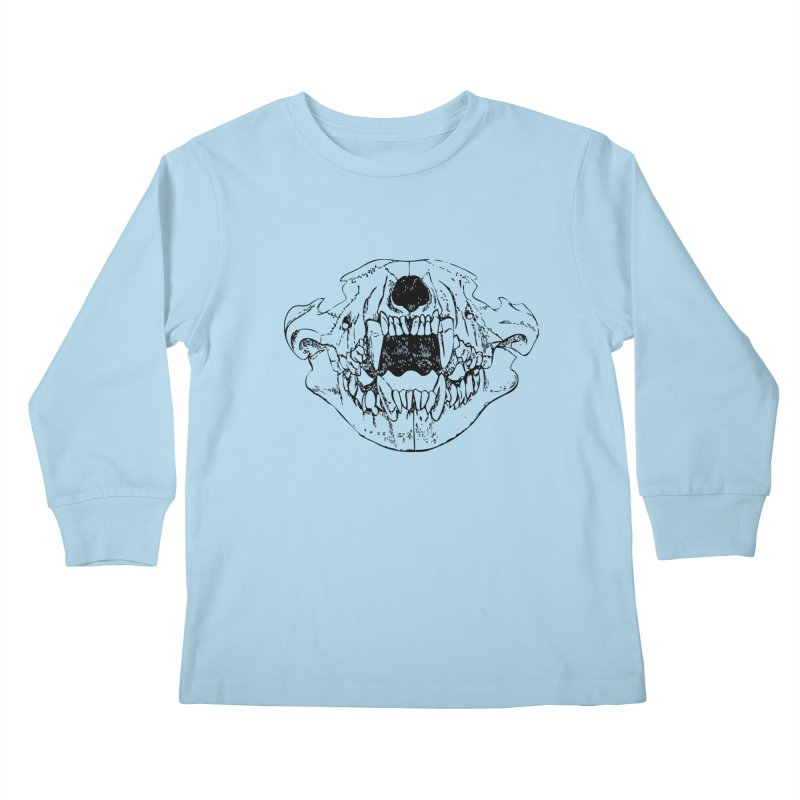 Bear Jaw Kids Longsleeve T-Shirt by Upper Realm Shop