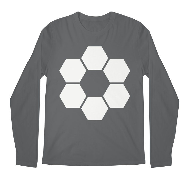 Kamon Solid W Men's Longsleeve T-Shirt by Upper Realm Shop