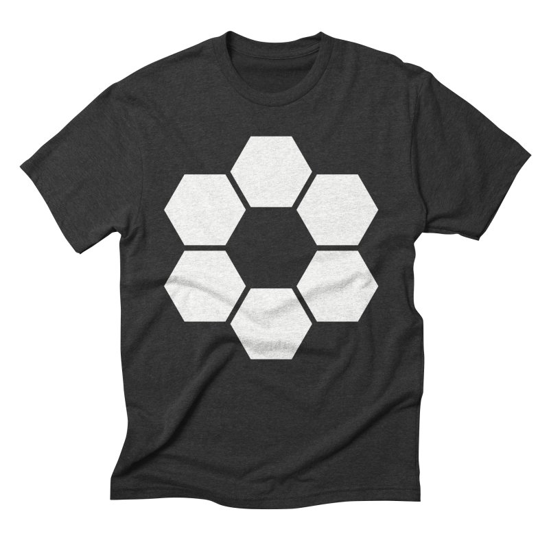 Kamon Solid W in Men's Triblend T-Shirt Heather Onyx by Upper Realm Shop