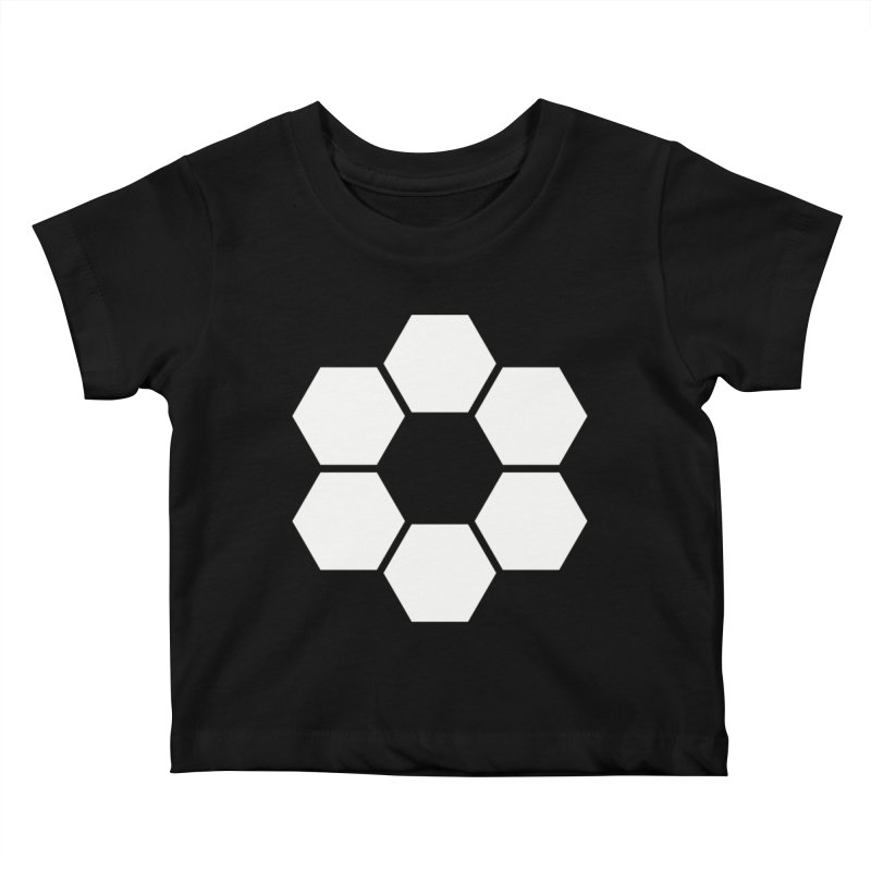 Kamon Solid W Kids Baby T-Shirt by Upper Realm Shop