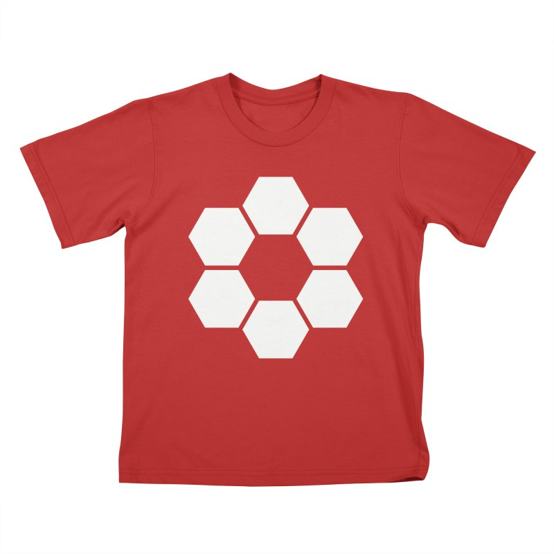 Kamon Solid W Kids T-Shirt by Upper Realm Shop