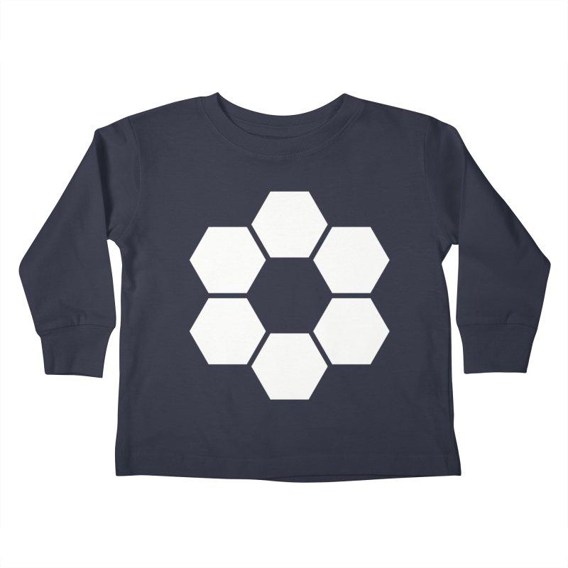 Kamon Solid W Kids Toddler Longsleeve T-Shirt by Upper Realm Shop
