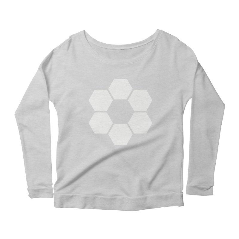 Kamon Solid W Women's Scoop Neck Longsleeve T-Shirt by Upper Realm Shop