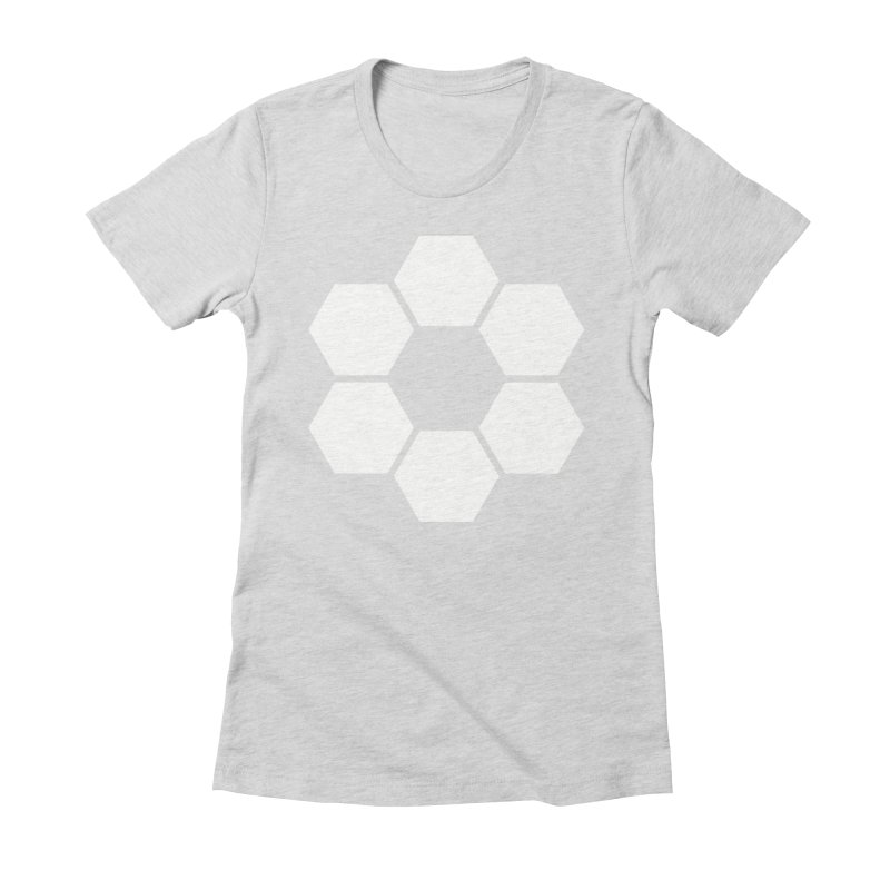 Kamon Solid W Women's Fitted T-Shirt by Upper Realm Shop