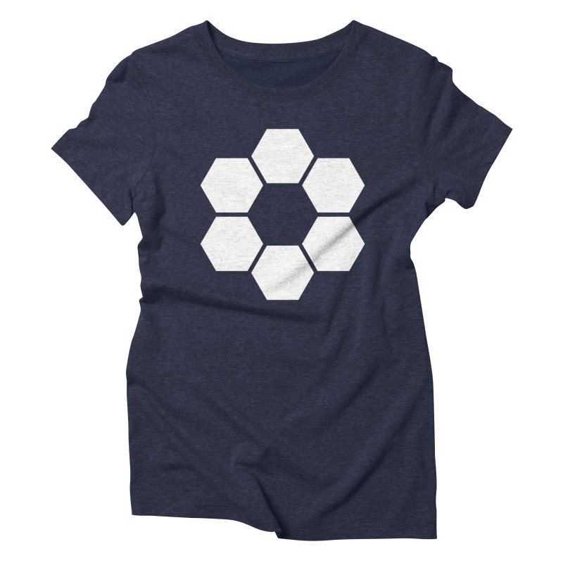 Kamon Solid W Women's Triblend T-Shirt by Upper Realm Shop
