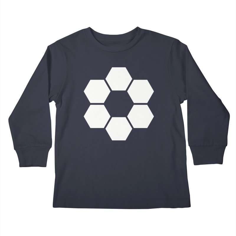 Kamon Solid W Kids Longsleeve T-Shirt by Upper Realm Shop