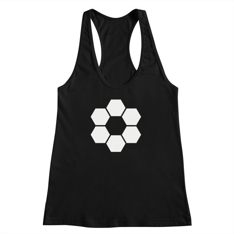 Kamon Solid W Women's Racerback Tank by Upper Realm Shop