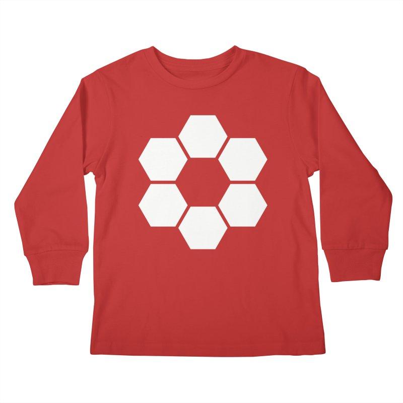 Kamon Solid W Kids Longsleeve T-Shirt by Upper Realm Shop