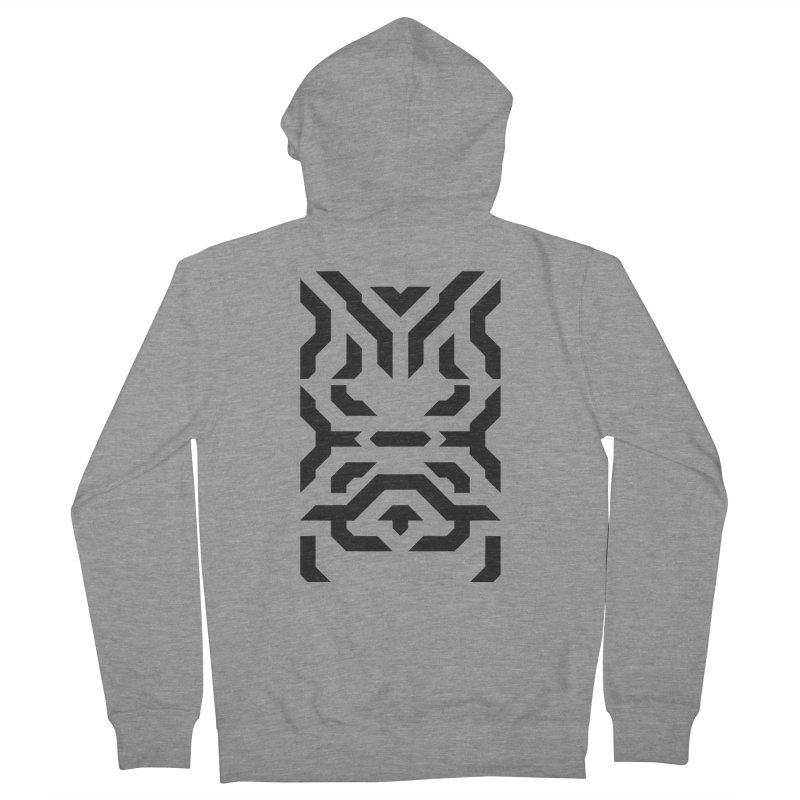 Totem Eye Men's Zip-Up Hoody by Upper Realm Shop