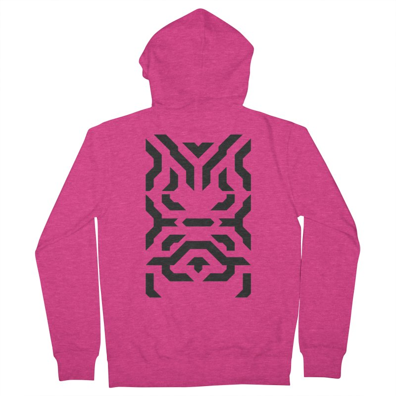 Totem Eye Women's French Terry Zip-Up Hoody by Upper Realm Shop