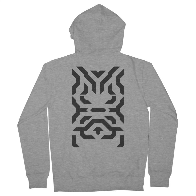 Totem Eye in Men's French Terry Zip-Up Hoody Heather Graphite by Upper Realm Shop