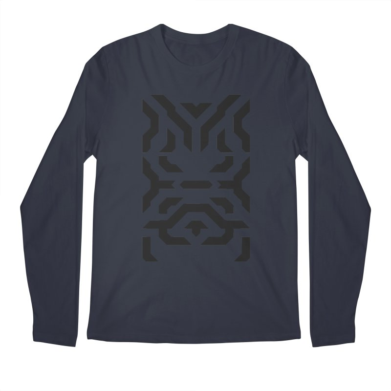 Totem Eye Men's Regular Longsleeve T-Shirt by Upper Realm Shop