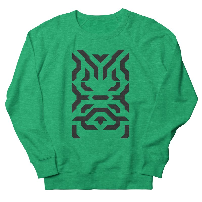 Totem Eye Men's French Terry Sweatshirt by Upper Realm Shop