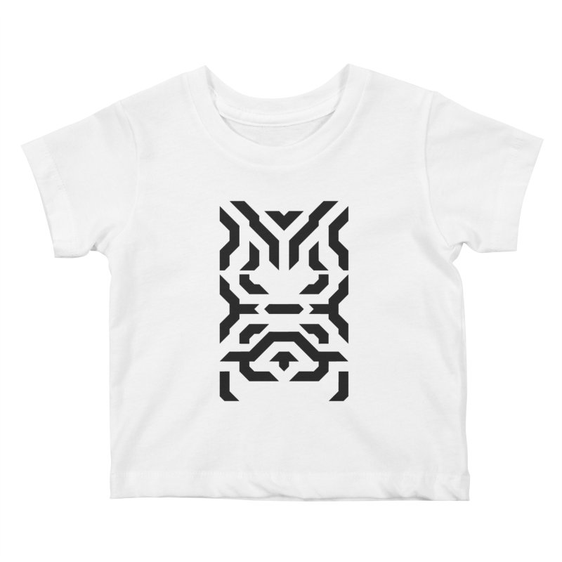 Totem Eye Kids Baby T-Shirt by Upper Realm Shop