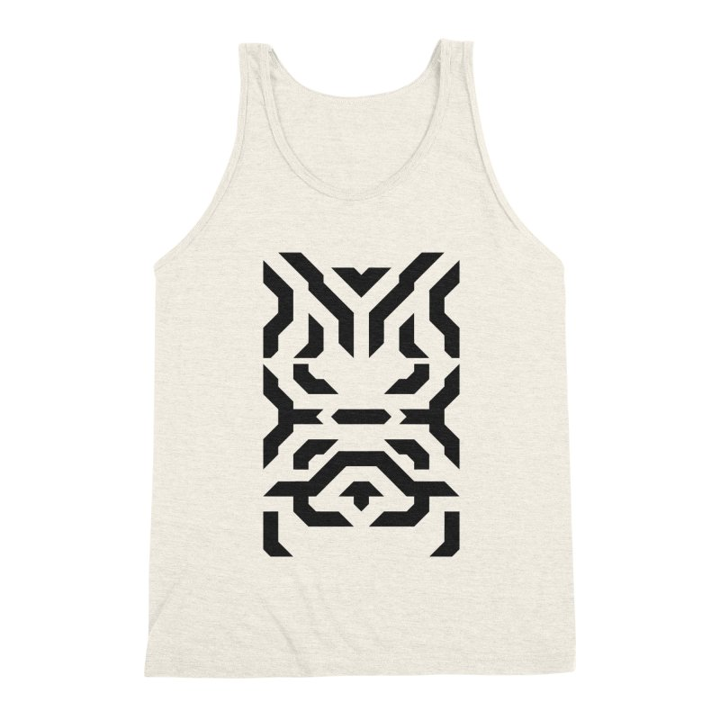Totem Eye in Men's Triblend Tank Heather Oatmeal by Upper Realm Shop