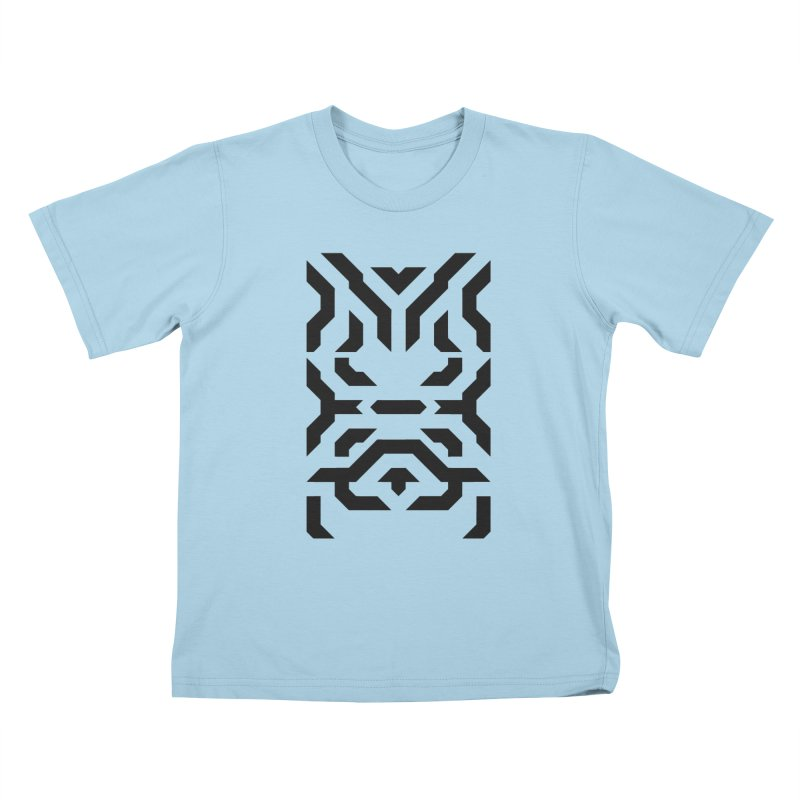 Totem Eye Kids T-Shirt by Upper Realm Shop