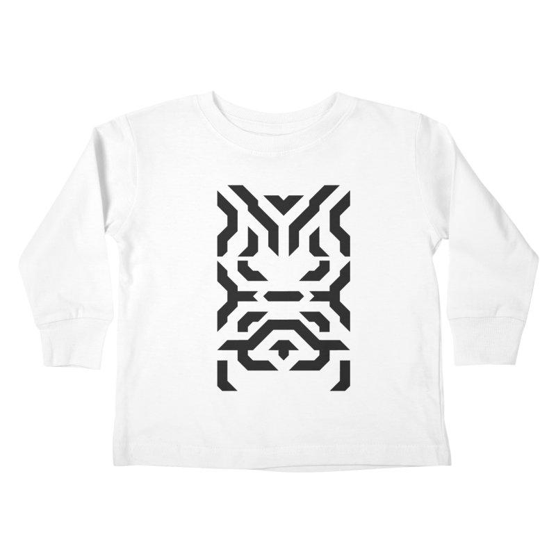 Totem Eye Kids Toddler Longsleeve T-Shirt by Upper Realm Shop
