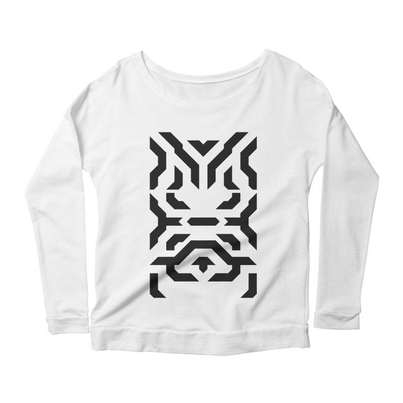 Totem Eye Women's Scoop Neck Longsleeve T-Shirt by Upper Realm Shop