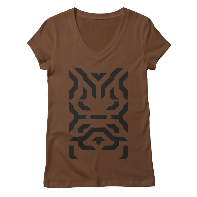 Totem Eye Women's Regular V-Neck by Upper Realm Shop