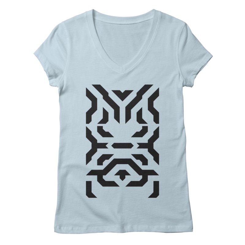 Totem Eye Women's V-Neck by Upper Realm Shop