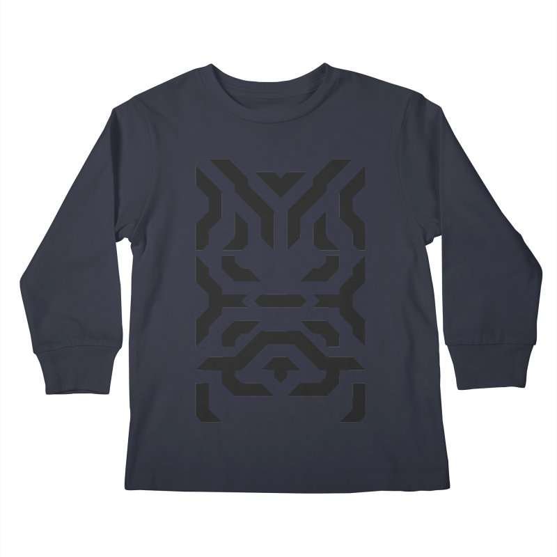 Totem Eye Kids Longsleeve T-Shirt by Upper Realm Shop