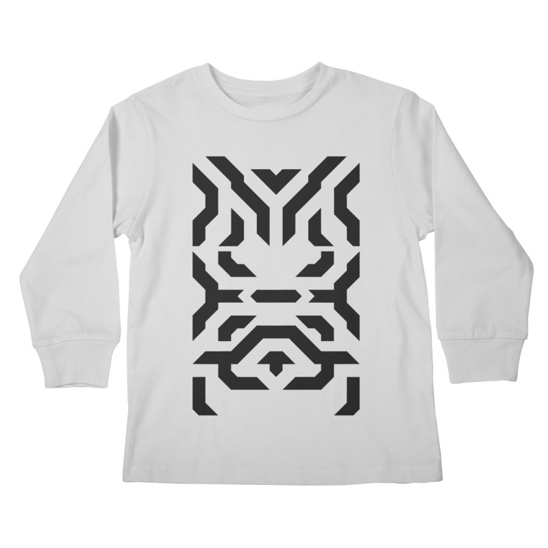 Totem Eye Kids Longsleeve T-Shirt by Upper Realm Shop