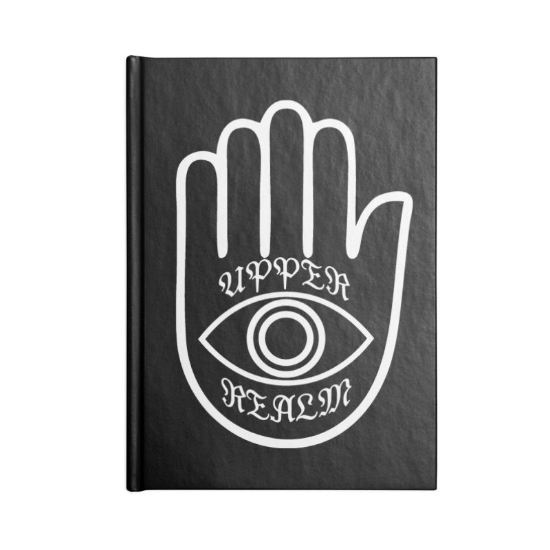Upper Realm Advisor Accessories Blank Journal Notebook by Upper Realm Shop