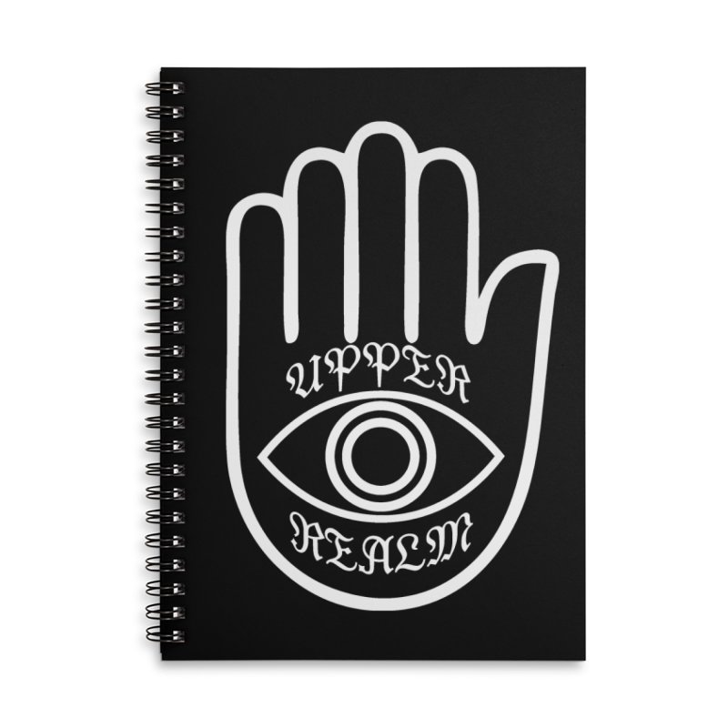 Upper Realm Advisor Accessories Lined Spiral Notebook by Upper Realm Shop