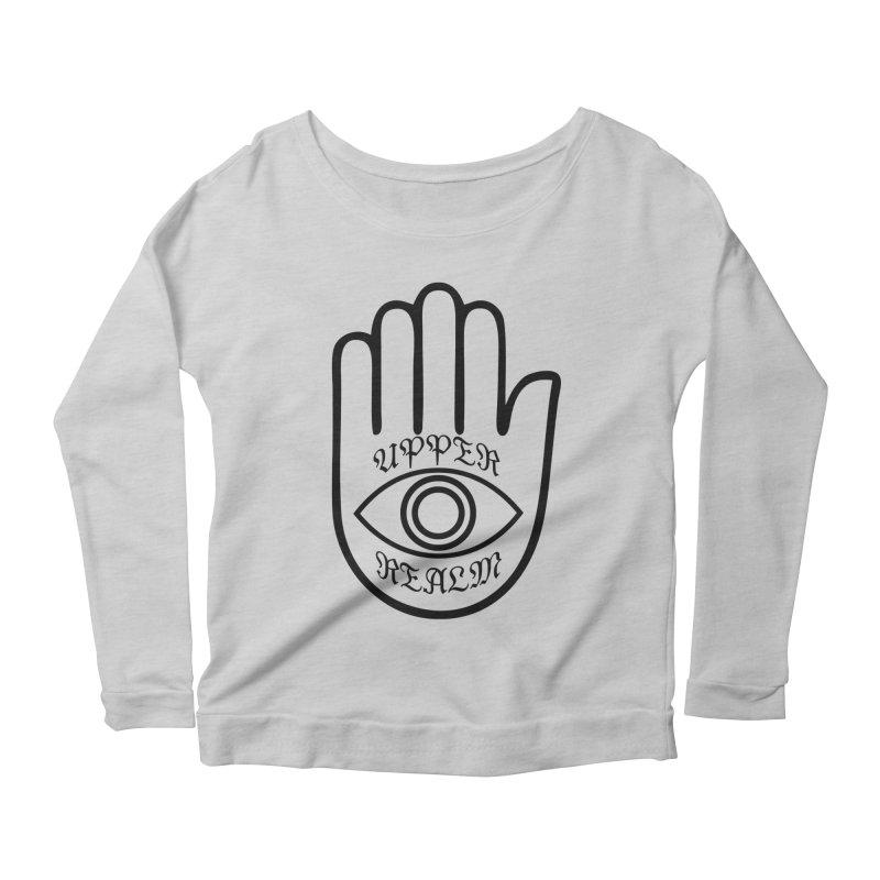 Upper Realm Advisor Women's Scoop Neck Longsleeve T-Shirt by Upper Realm Shop