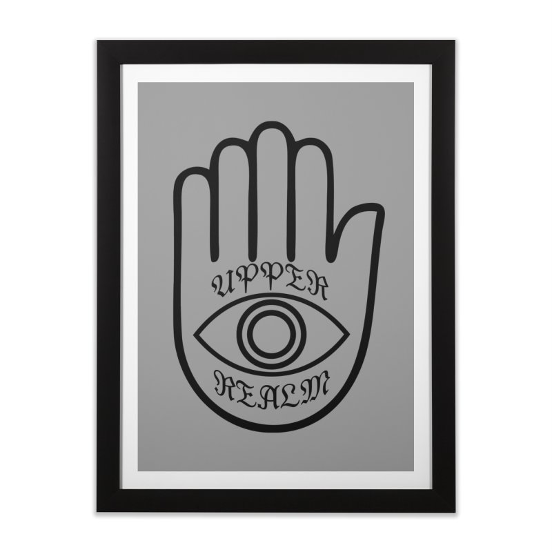 Upper Realm Advisor Home Framed Fine Art Print by Upper Realm Shop