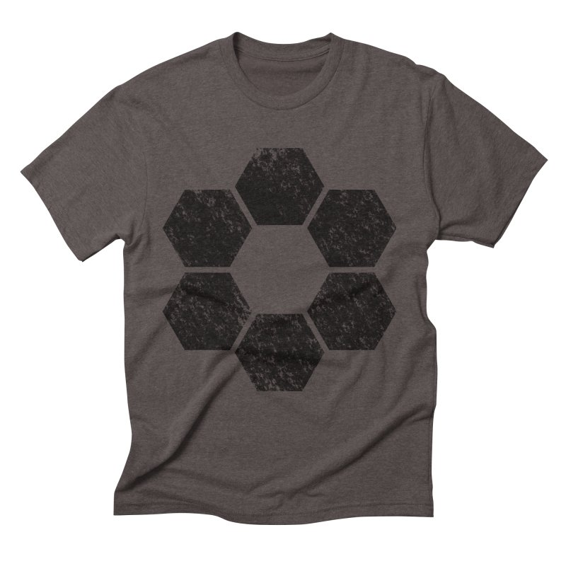 Kamon Lunar  Men's T-Shirt by Upper Realm Shop