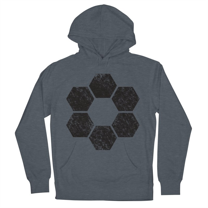 Kamon Lunar  Men's French Terry Pullover Hoody by Upper Realm Shop