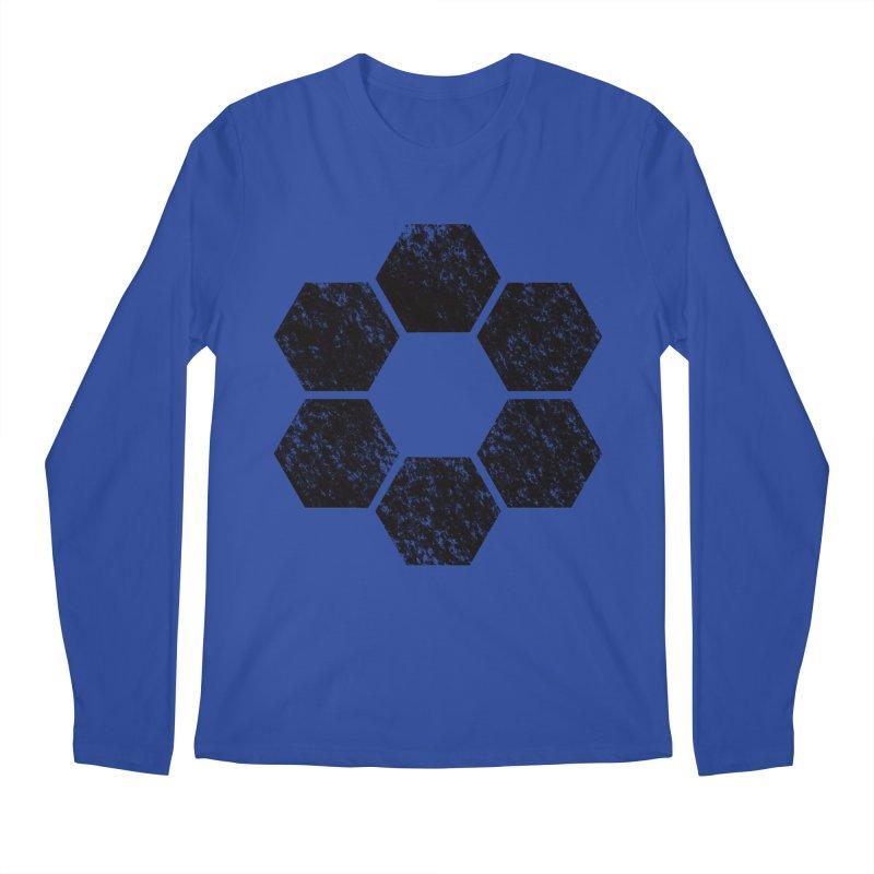 Kamon Lunar  Men's Regular Longsleeve T-Shirt by Upper Realm Shop