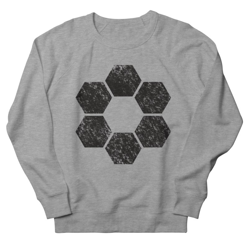 Kamon Lunar  in Men's French Terry Sweatshirt Heather Graphite by Upper Realm Shop