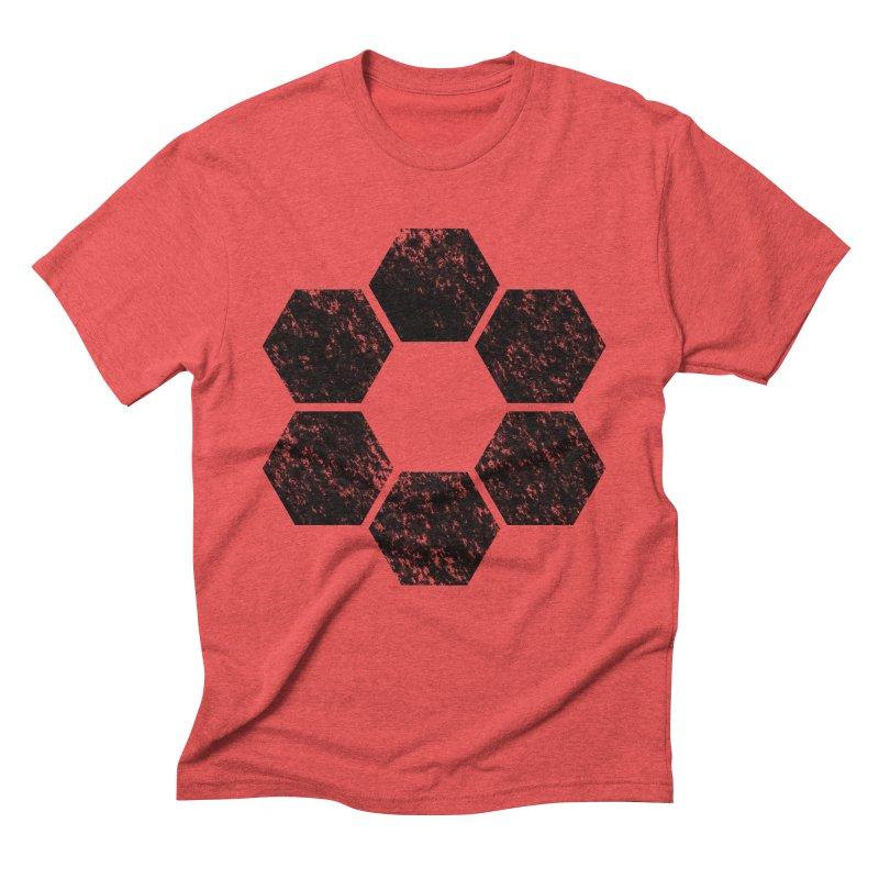 Kamon Lunar  Men's Triblend T-Shirt by Upper Realm Shop