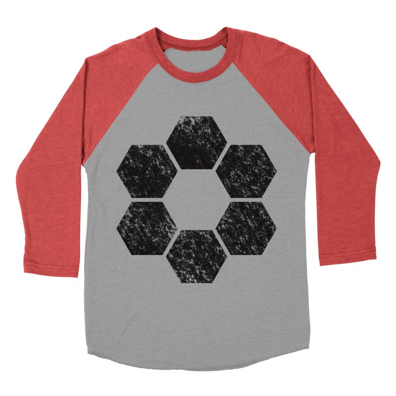 Kamon Lunar  Men's Baseball Triblend Longsleeve T-Shirt by Upper Realm Shop