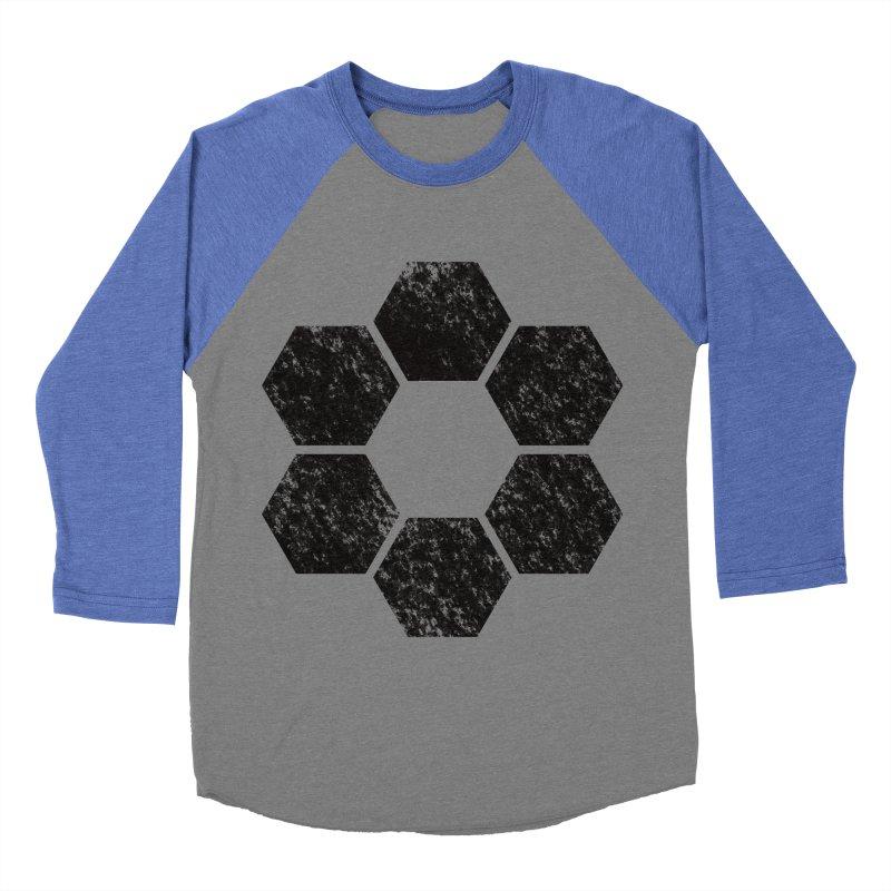 Kamon Lunar  Men's Baseball Triblend Longsleeve T-Shirt by Upper Realm Shop