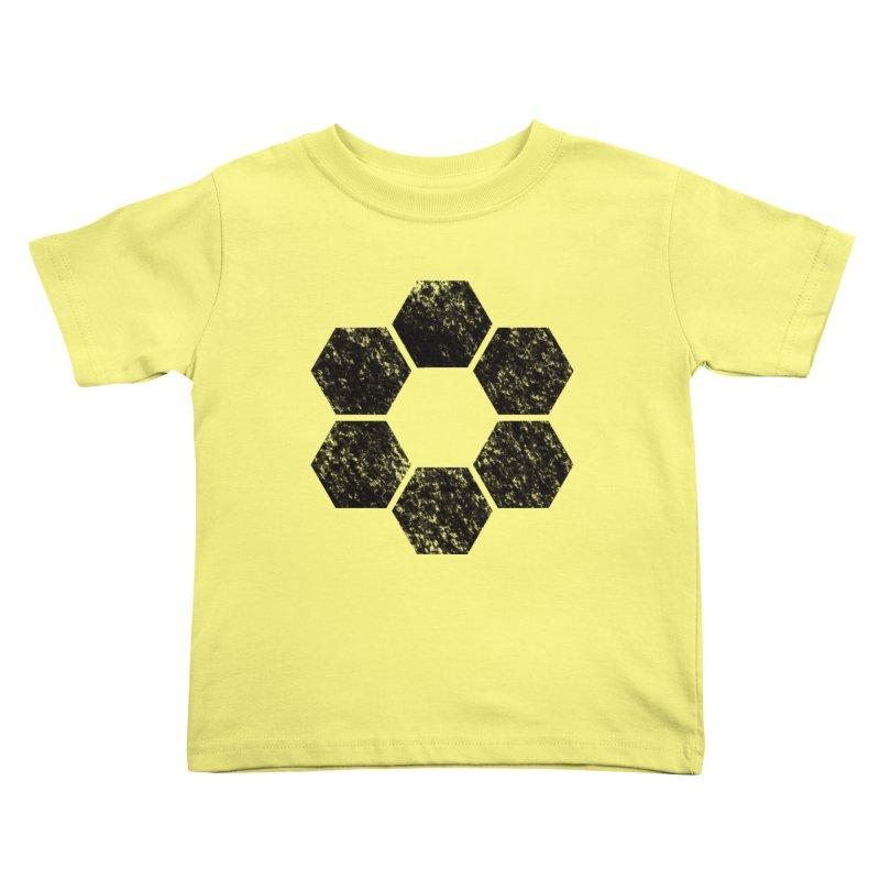 Kamon Lunar  Kids Toddler T-Shirt by Upper Realm Shop