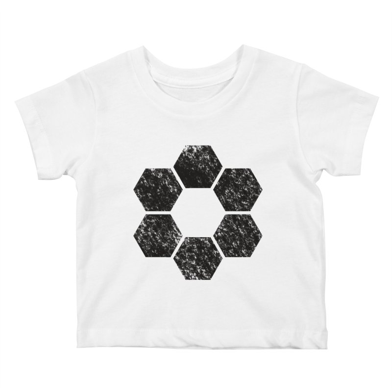 Kamon Lunar  Kids Baby T-Shirt by Upper Realm Shop
