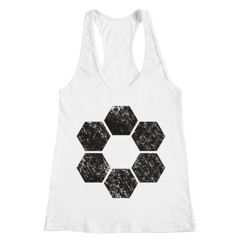 Kamon Lunar  Women's Racerback Tank by Upper Realm Shop