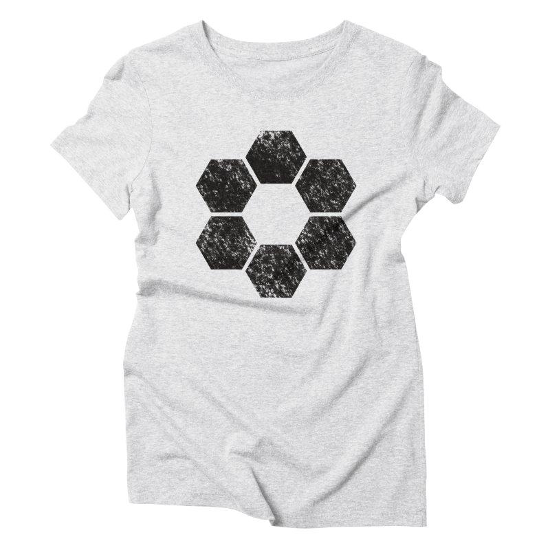 Kamon Lunar  Women's T-Shirt by Upper Realm Shop
