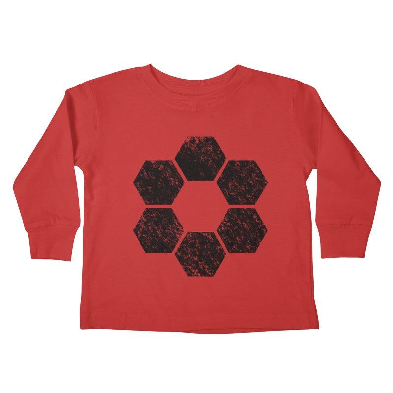 Kamon Lunar  Kids Toddler Longsleeve T-Shirt by Upper Realm Shop