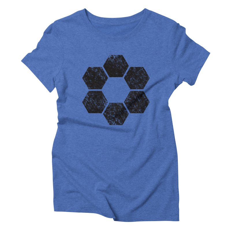 Kamon Lunar  Women's Triblend T-Shirt by Upper Realm Shop