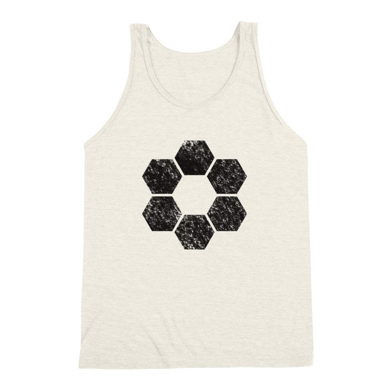 Kamon Lunar  Men's Triblend Tank by Upper Realm Shop