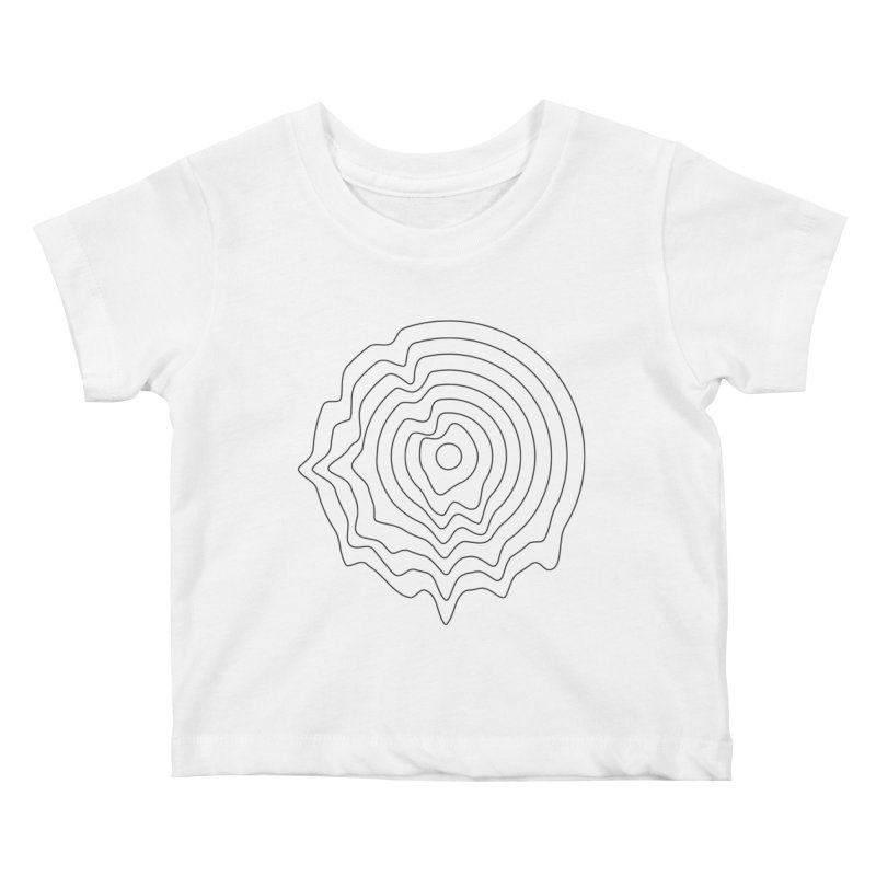 Hot Wax Kids Baby T-Shirt by Upper Realm Shop