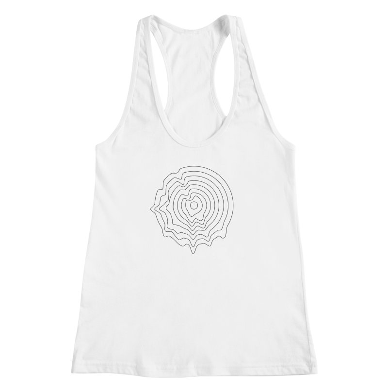 Hot Wax Women's Racerback Tank by Upper Realm Shop